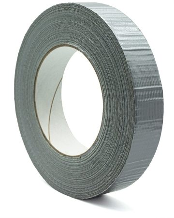 Scapa 3160, 25 mm x 50 m, 0,15 mm, Silber, Duct Tape, Gewebeband extra stark